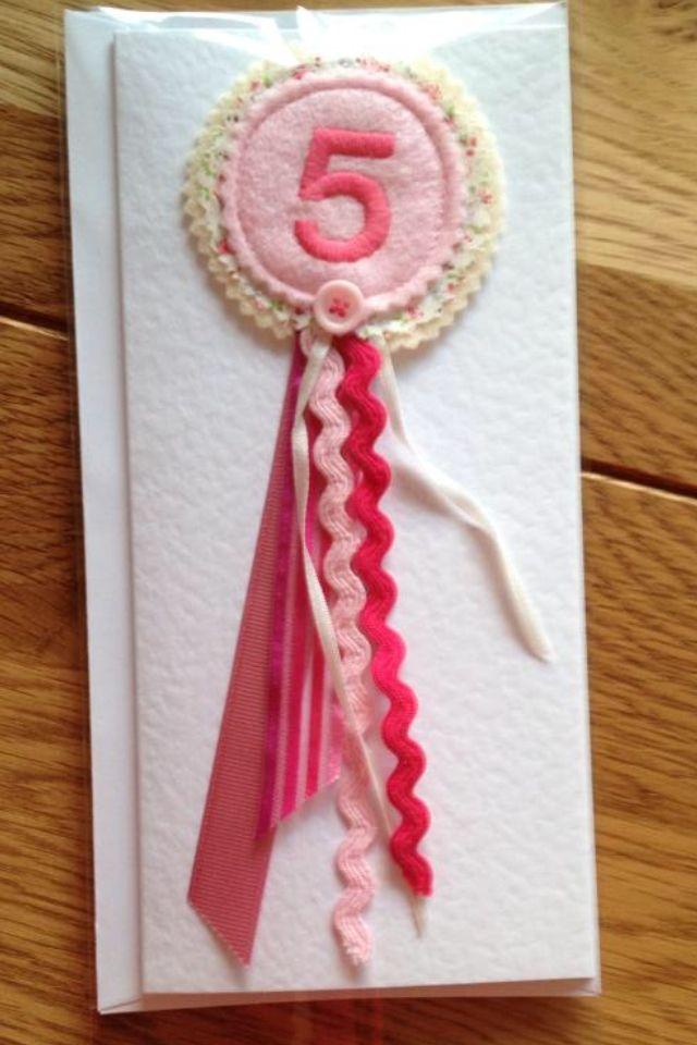 Birthday rosette badge