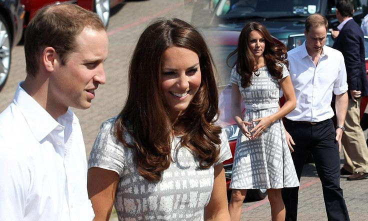 Cut-price Kate sports a £35 dress from Hobbs as she joins the country in countdown to Olympic Games