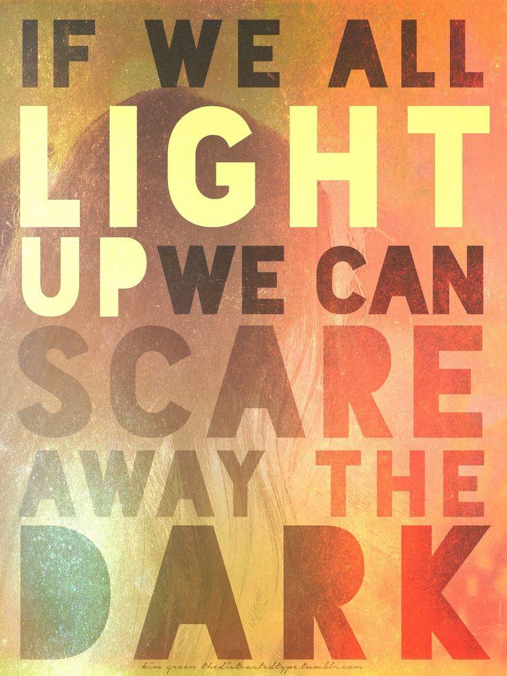 LYRICS+TYPOGRAPHY: Passenger/Scare Away the Dark