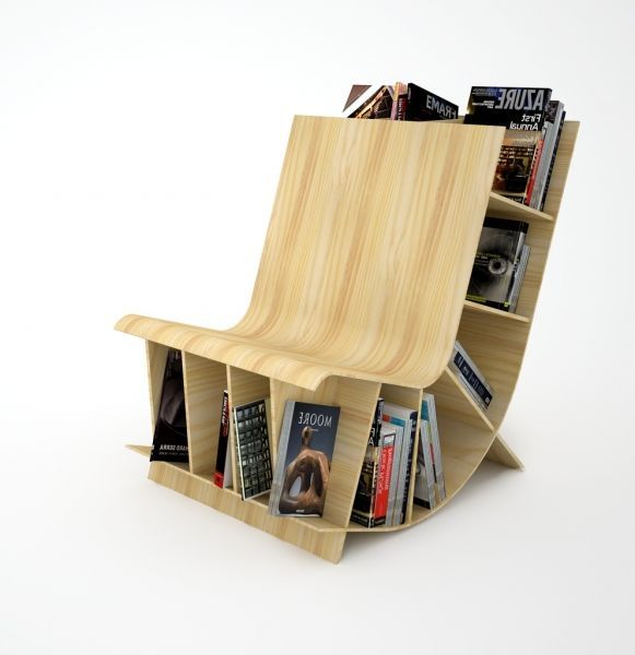 Here Is Some Bookcase Chair That Integrated With Bookcases That Might Just  Be More Exciting Than The Books Themselves!