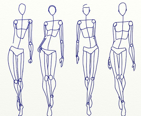 25 best body images on Pinterest Drawing techniques, Drawing - blank fashion design templates