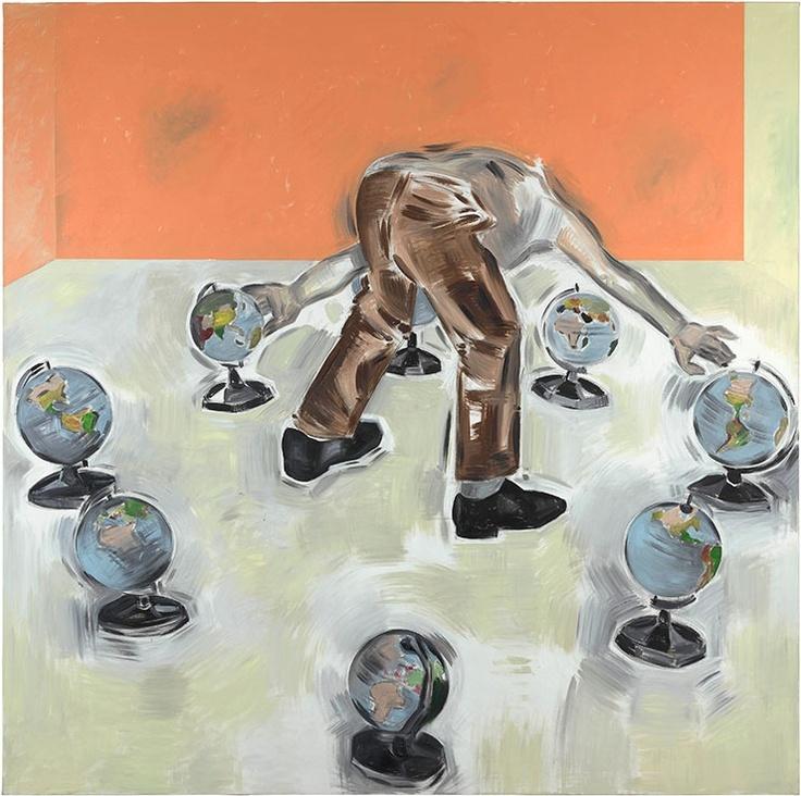 Apostolos Georgiou, Untitled, 2012, acrylic on canvas