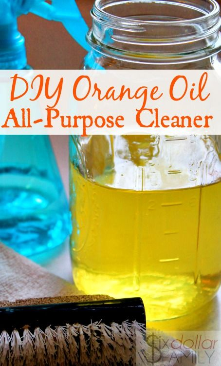 If you love making homemade cleaners, you'll LOVE this DIY Orange All-Purpose Cleaner! My favorite of all natural cleaners, it's so simple to make and super cheap too! Plus it smells amazing and works like a charm!