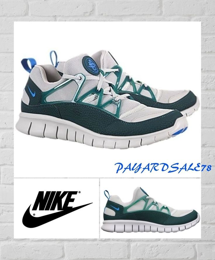 MEN'S NEW NIKE SNEAKERS SIZE 10 FREE HUARACHE LIGHT +  WAFFLE BOTTOM FLEX 555440 #Nike #RunningCrossTraining