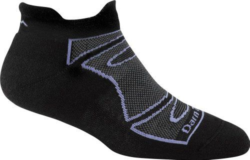 Darn Tough Vermont Women's Merino Wool No-Show Ultra-Light Cushion Athletic Socks, Black/Periwinkle, Small Darn Tough http://www.amazon.com/dp/B00B5F0MF2/ref=cm_sw_r_pi_dp_bHmavb03TTXG7