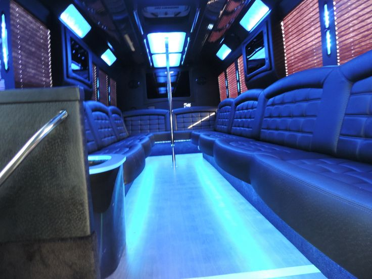 Ford 24 passenger Limo bus Inside Limo bus, Sonoma wine