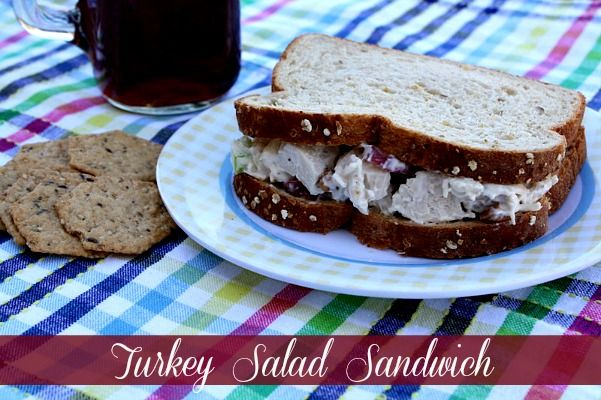 Mommy's Kitchen: Turkey Salad {Leftover Turkey Recipe}