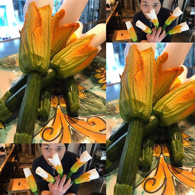 皆さまぁ〜!こんにちはぁ〜🤗 今日は、先取り食材を御紹介🙇 #花ズッキーニ  ちゃん‼️を入荷しましたよぉ〜! #初夏 のお食材を #先取り 笑っ‼️ やはり、お花の部分に #モッツァレラ と #アンチョビ を詰めて #フリット でまずは召し上がってくださいませ!笑っ🙇 #限定 5本‼️ 本日ご用意出来ます! お電話、ご予約お待ちしております😁ご予約時に食べたいって言っていただけましたら、キープいたしますよぉ〜😉 【ビババンコよりお知らせです!】 土日祝日のランチ営業を再開しております! 12時Open 14時L.O 15時close!詳細はご来店お待ちしております! #代々木上原 #代々木八幡 #ビババンコ #vivabanco #イタリアン #カウンターキッチン #デート #肉 #お肉 #サルシッチャ #自家製ソーセージ #ソーセージ #野菜  #産直野菜 #鉄板イタリアン #代々木上原イタリアン #代々木八幡イタリアン #生パスタ #ダルマプロダクション