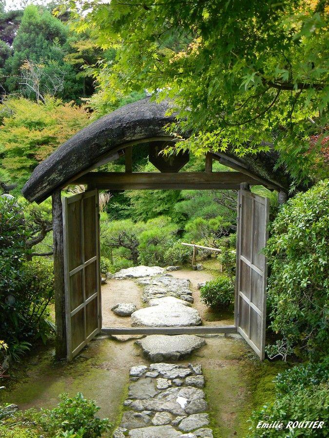 Okochi Sanso's Garden, Arashiyama, Kyoto, Japan   by Emilie ROUTIER on 500px 大河内山荘庭園