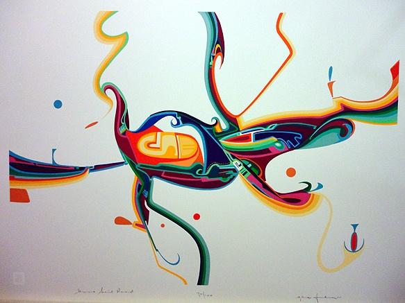 Alex Janvier painting