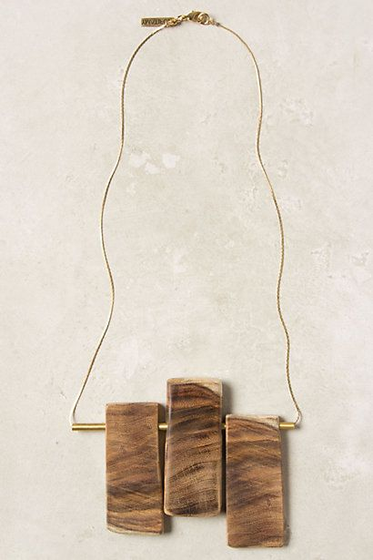 Balanced Necklace #anthropologie