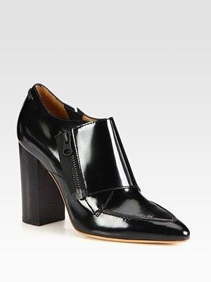 3.1 Phillip Lim - Delia Leather Ankle Boots - Saks.com