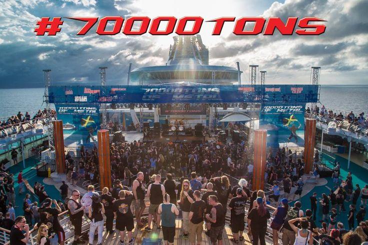 Is this what Valhalla looks like?   #70000TONS #MetalCruise #Stratovarius #TGIF