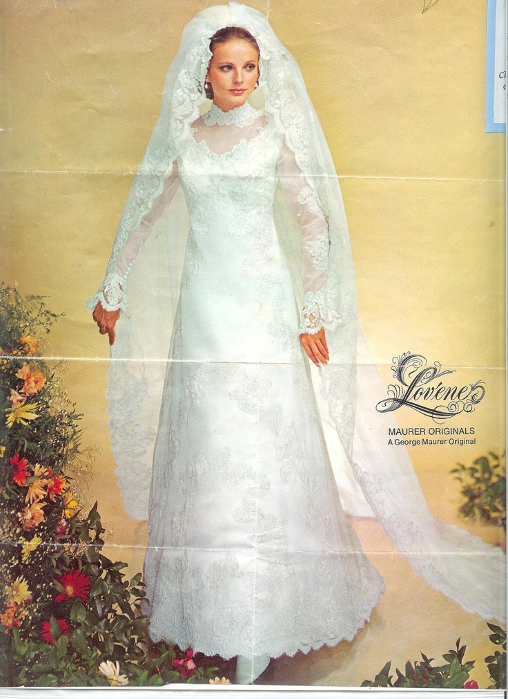 17 best images about 1970s bridal fashion on pinterest for 1970s vintage wedding dresses