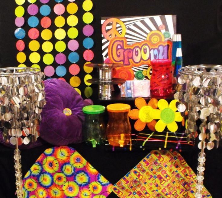 28 Awesome 70s party theme images