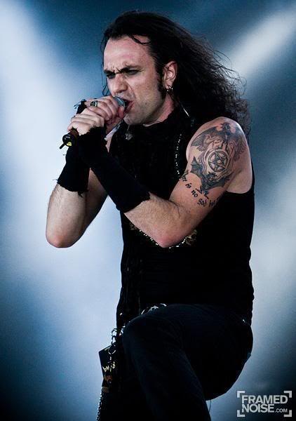 moonspell' singer Fernando Ribeiro ! Best singer ! ^^ !