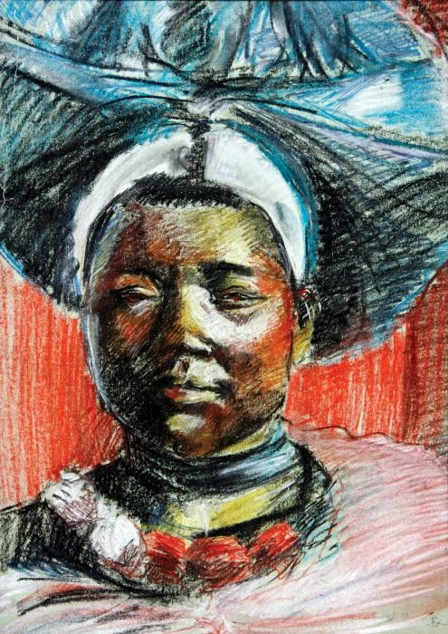 South African Pastel  - South African Fine Art Print