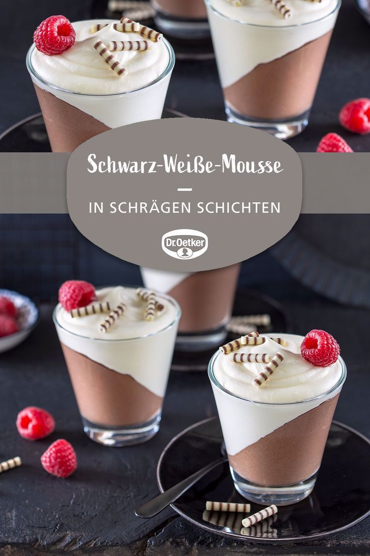 weiße mousse