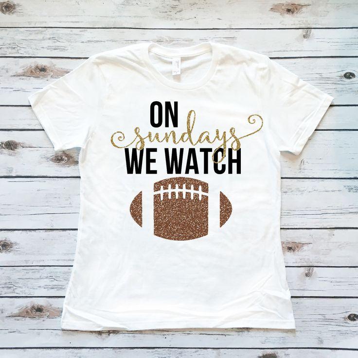 On Sundays We Watch Football | Women's Shirt