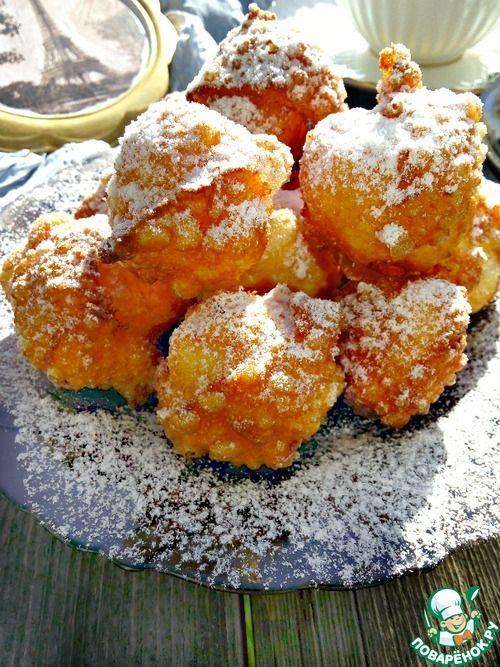"""Пончики """"Бенье"""" - кулинарный рецепт"""