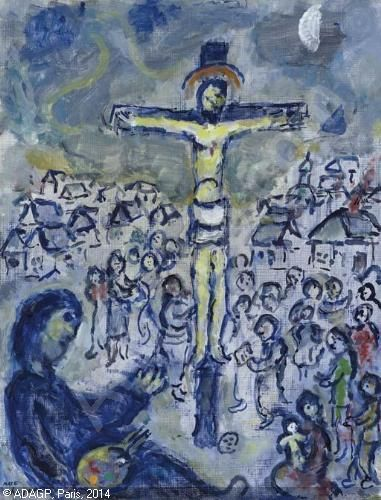 35 best Chagall crucifixion images on Pinterest | Marc ... Chagall Crucifixion