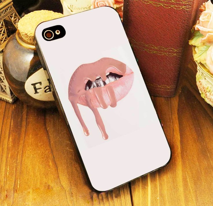 Kylie Jenner Lips Pink Case iPhone 4 5 6 6s Plus Samsung S iPod 5 HTC Case