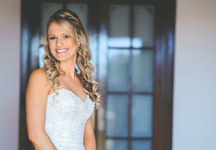 Romantic curls & braid by Total Brides hair & makeup