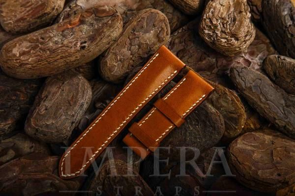 Tobacco Brown Leather Watch Strap,https://www.imperastraps.com