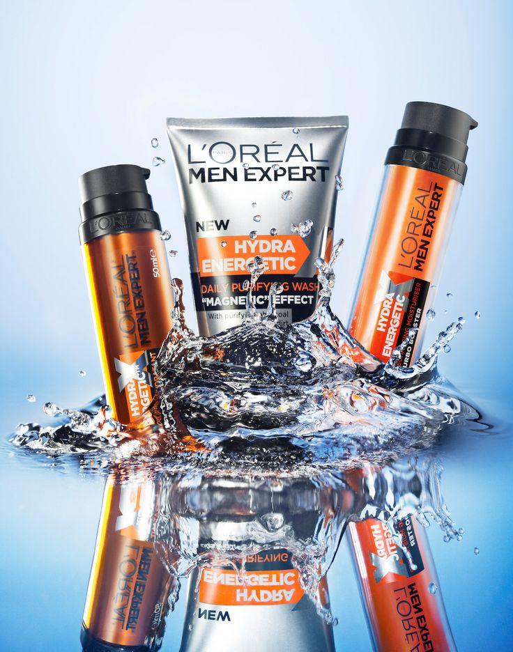 Still Life Product Photographer Pedersen beauty toiletries toiletry loreal cool water action splash liquid