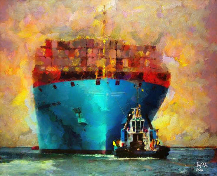 Check out Harbour Tug by Szigeti Miklós at eagalart.com
