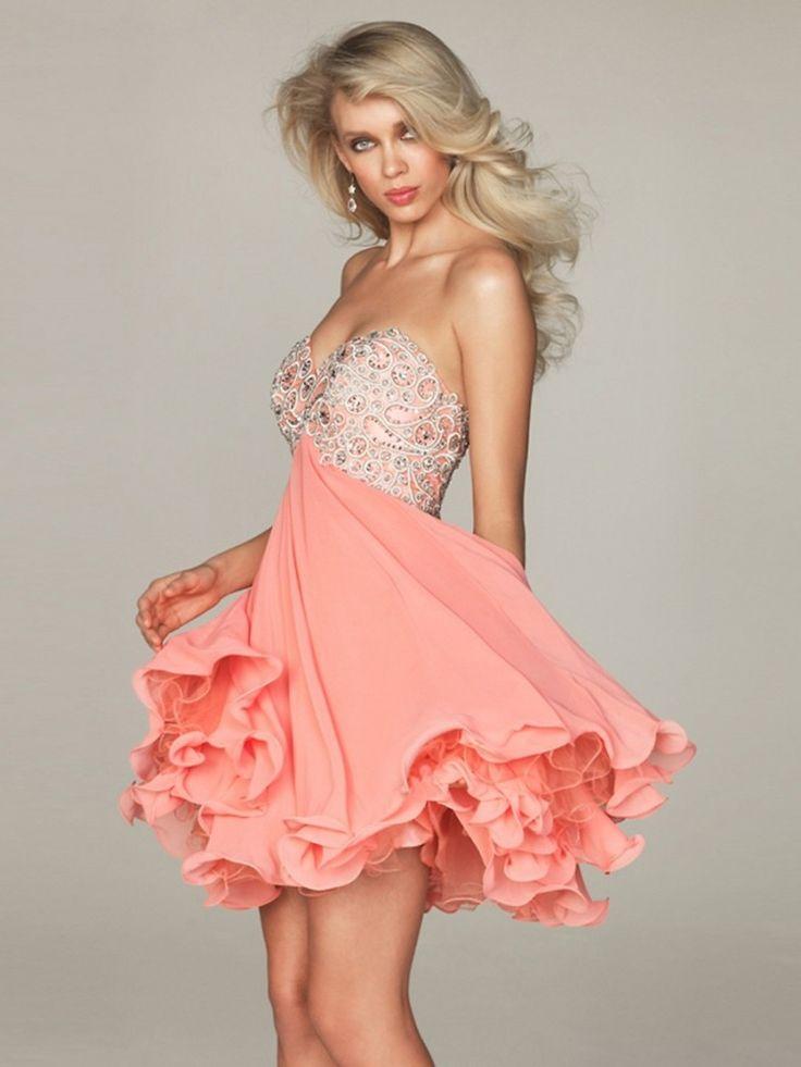 25 best Lovely Short Formal Dresses Designs images on Pinterest ...