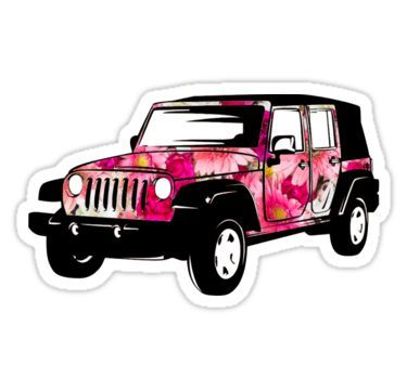 Flower Power Jeep Wrangler #beachgifts #beach #gifts #gift Ideas