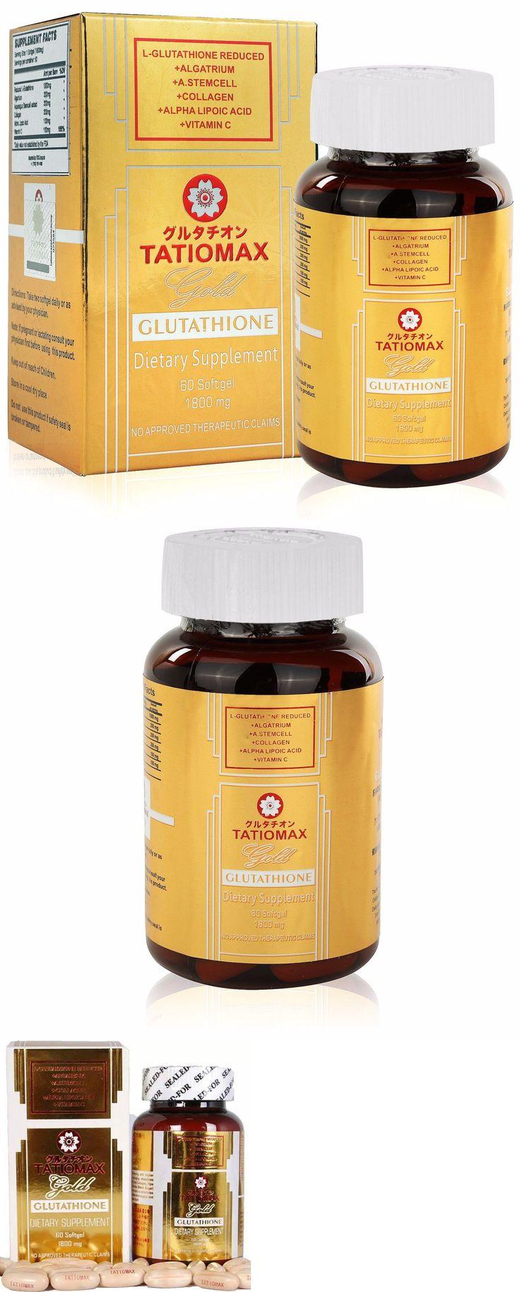 Lightening Cream: New Tatiomax Gold Glutathione Whitening Gel Capsules With 1800Mg Of Glutathione -> BUY IT NOW ONLY: $74.5 on eBay!