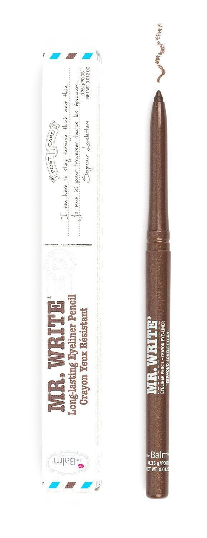 theBalm Cosmetics Mr. Write® Long Lasting Eyeliner Pencil (Seymour Loveletters)  #liners #theBalm #eyeliner