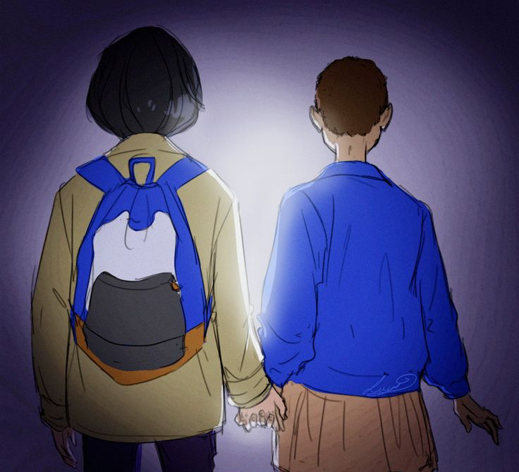 """""""Best love story"""" - Mike Wheeler and Eleven, Stranger Things"""