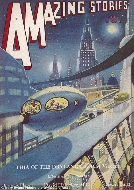 From landing on the moon to mind-controlled robots: Sci-fi comics from the 1930s reveal scarily accurate predictions of the future.
