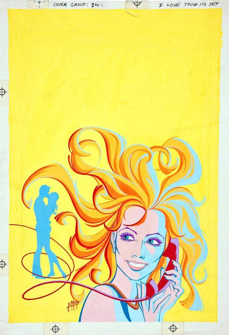 Enrique Nieto, cover art for I Love You # 114, 1975