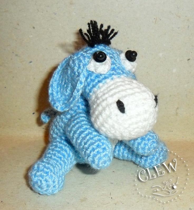 Crochet Amigurumi Eeyore : Eeyore Toy Donkey - Handmade Crochet Soft Toy In Amigurumi ...