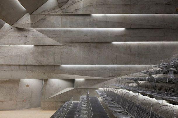 Sterk betonnen ontwerp voor nieuwe concertzaal - EYEspired