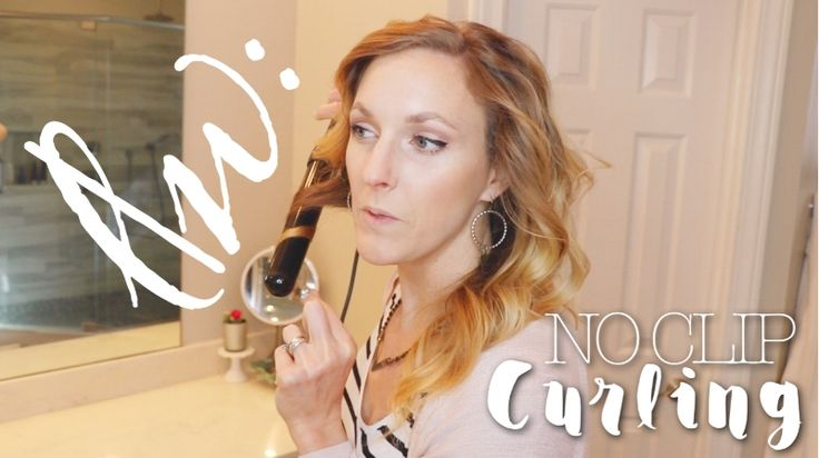 no clip on the barrel no clip in your hair. clipless curling technique luxe|wise - Blog
