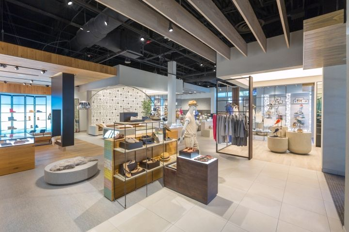 UGG store by Checkland Kindleysides, Lake Buena Vista – Florida » Retail Design Blog