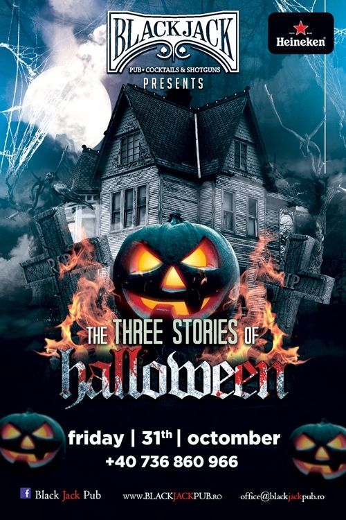 The three stories of Halloween - powered by Black Jack pub