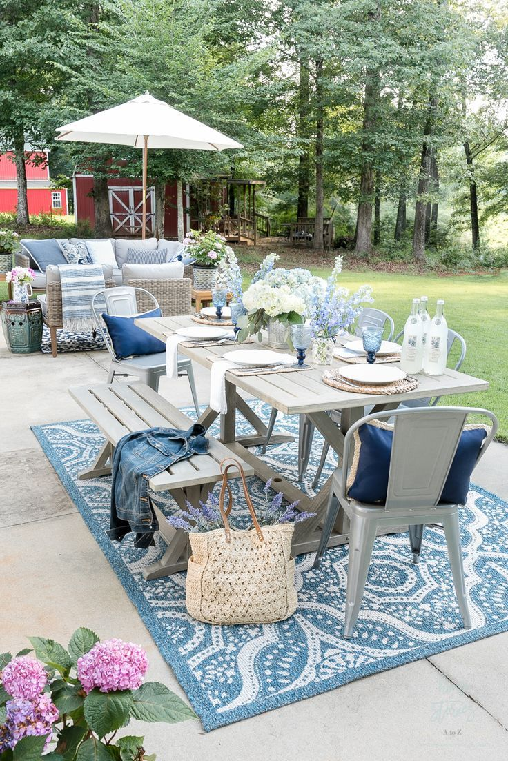 My Affordable Patio Furniture and Outdoor Decorating