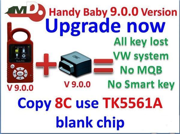 V9 0 0 JMD Handy Baby key programmer Cbay Handy Baby Key Clone for