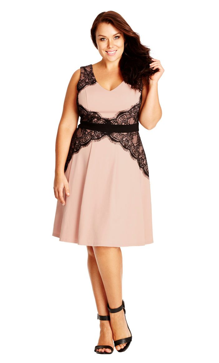 City Chic Lace Corset Dress - Women\'s Plus Size Fashion City Chic ...