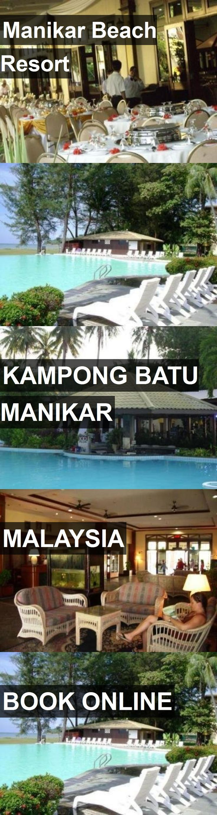 Hotel Manikar Beach Resort in Kampong Batu Manikar, Malaysia. For more information, photos, reviews and best prices please follow the link. #Malaysia #KampongBatuManikar #travel #vacation #hotel