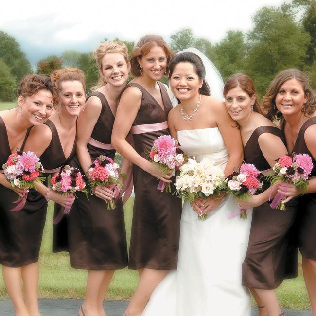 Popular Best Chocolate bridesmaid dresses ideas on Pinterest Brown bridesmaid dresses Chocolate brown wedding and Brown wedding themes