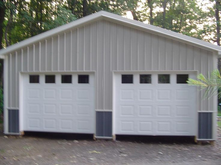3 Car Metal Garage Kits Garage Affordable 2 Car Garage Kits Ideas Two Car Garage