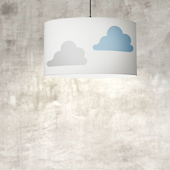 27 best nursery lamp shades images on pinterest lamp shades light clouds lamp shade 59 cm 232 in warm grey hand painted by meretant mozeypictures Images