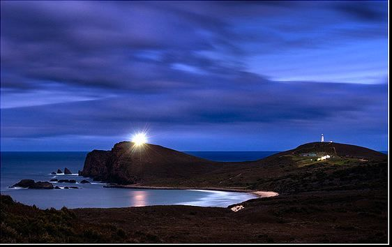 Bruny Island: The Cape Bruny Lighthouse in the South Bruny National Park... Join Bruny Island Safaris